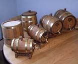 Oak-kegs-1,2,3,4,5-and-9-ltr-and-ice-buckets.jpg
